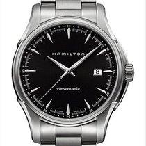 Hamilton Steel Automatic Black 40mm new Jazzmaster Viewmatic