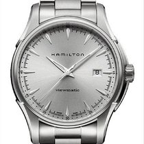 Hamilton Jazzmaster Viewmatic Steel 40mm Silver