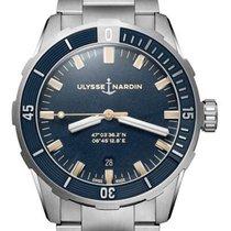Ulysse Nardin 8163-175-7M/93 Steel 2021 42mm new