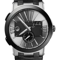 Ulysse Nardin 243-00/421 Steel 2020 Executive Dual Time 43mm new