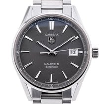 TAG Heuer Carrera Calibre 5 Steel Grey
