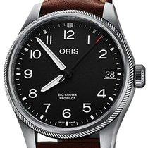 Oris 01 751 7761 4164-07 6 20 07LC Steel 2020 Big Crown ProPilot Date 41mm new