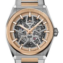 Zenith Automatic Silver 41mm new Defy