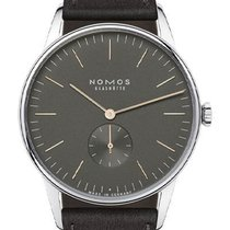 NOMOS Orion 1989 Steel 38mm Grey