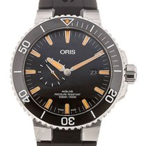 Oris 01 743 7733 4159-07 4 24 64EB Steel 2020 Aquis Small Second 46mm new