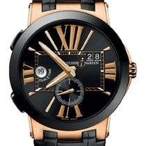 Ulysse Nardin Executive Dual Time 246-00/42 New 43mm Automatic
