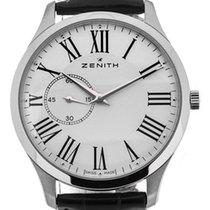 Zenith 03.2010.681/11.C493 Acier 2020 Elite Ultra Thin 40mm nouveau