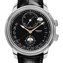 Parmigiani Fleurier Steel Automatic Black new Toric