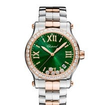 Chopard Happy Sport 278582-6008 Novo Zlato/Zeljezo 36mm Kvarc