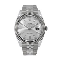 Rolex Datejust Steel 41mm Silver No numerals United States of America, New York, New York