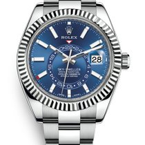 Rolex Sky-Dweller Gold/Steel 42mm Blue United States of America, Florida, Sunny Isles Beach