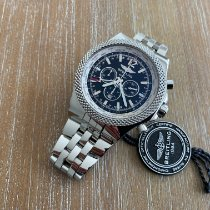 Breitling Bentley GMT Steel 49mm Black No numerals United States of America, New Jersey, Edgewater