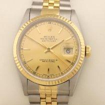 Rolex 16233 Automatic Automatik Acero y oro 1997 Datejust 36mm usados