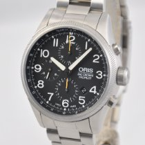 Oris Big Crown ProPilot Chronograph Steel 44mm Black United States of America, Ohio, Mason