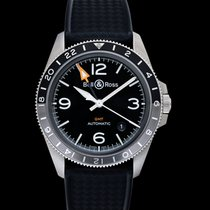 Bell & Ross BR V2 new Automatic Watch with original box and original papers BRV293-BL-ST/SRB