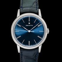 Zenith Steel Automatic Blue 39mm new Elite