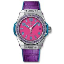 Hublot Big Bang Pop Art Aço 39mm Cor-de-rosa