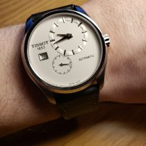 Tissot Couturier Steel 39mm White