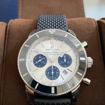 Breitling Superocean Héritage II Chronographe AB0162121G1S1 Yeni Çelik 44mm Otomatik