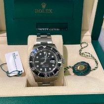 Rolex Sea-Dweller Zeljezo 43mm Crn Bez brojeva