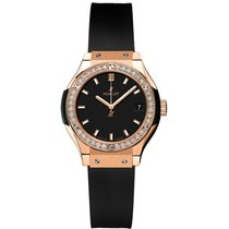 Hublot Classic Fusion Quartz Rose gold 33mm Black United States of America, New York, New York