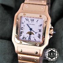 Cartier Santos (submodel) Very good Yellow gold Quartz