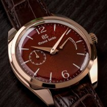 Seiko Grand Seiko Rose gold 39mm Red No numerals United States of America, Texas, Austin