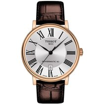 Tissot new Automatic Display back PVD/DLC coating 40mm Steel Sapphire crystal