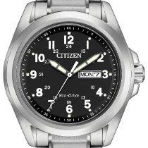 Citizen Citizen Eco Drive Garrison AW0050-82E Nuovo 43mm Quarzo