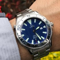 Omega Seamaster Diver 300 M Steel 41mm Blue No numerals United States of America, Florida, Pembroke Pines