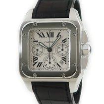 Cartier Santos 100 Silver