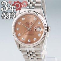 Rolex Datejust Gold/Steel 36mm Pink