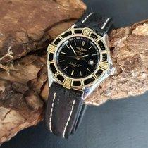 Breitling Lady J Gold/Steel 31mm Black
