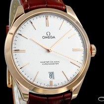 Omega De Ville Trésor neu 2019 Handaufzug Uhr mit Original-Box und Original-Papieren 432.53.40.21.02.002