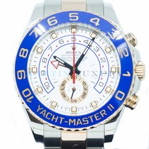 Rolex Yacht-Master II Gold/Steel 44mm White No numerals Singapore, Singapore