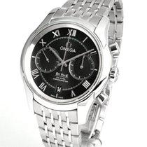 Omega De Ville Co-Axial nuevo 2020 Automático Cronógrafo Reloj con estuche y documentos originales 431.10.42.51.01.001