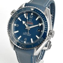 Omega Титан Автоподзавод Синий 45.5mm новые Seamaster Planet Ocean