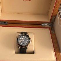 Omega Seamaster Diver 300 M Gold/Steel 42mm Black No numerals India, Mumbai