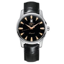 Longines Conquest Heritage L1.645.4.52.4 Ny Stål 40mm Automatisk