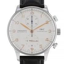 IWC 3714 Acier 2010 Portuguese Chronograph 41mm occasion France, Paris