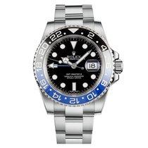 Rolex GMT-Master II Steel 40mm Black No numerals Australia