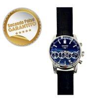 Eberhard & Co. Chrono 4 Acier Bleu