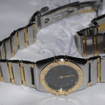 Omega Or/Acier 22,5mm Quartz 795.1080 occasion