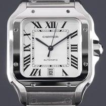 Cartier Santos (submodel) Сталь 39.8mm Cеребро Римские