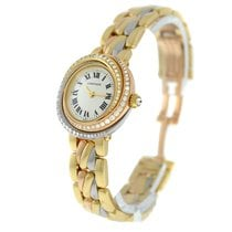 Cartier Trinity Yellow gold 27mm Gold Roman numerals United States of America, New York, New York
