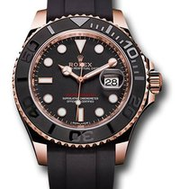 Rolex Yacht-Master 37 Rose gold 37mm Black United States of America, New York, NY