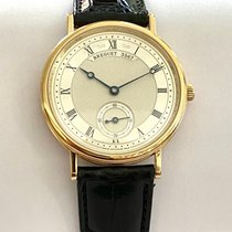 Breguet Yellow gold 35mm Manual winding 5907ba/12/984 new