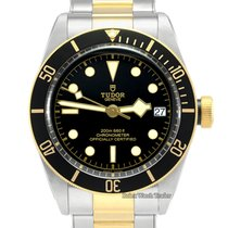 Tudor 79733N Or/Acier 2019 Black Bay S&G 41mm occasion