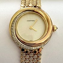 Cartier Damenuhr Trinity 27mm Quarz neu Uhr mit Original-Box und Original-Papieren 1997