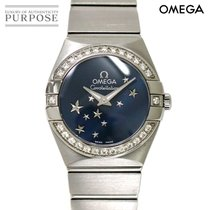 Omega 123 15 24 60 03 001 Acier Constellation Quartz 24mm occasion
